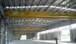 SM STROJOMETAL - KRIŽEVCI CROATIA - new DEMAG double girder and single girder overhead bridge cranes load capacity 10 and 5 tons cranes span 24 meters