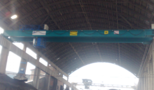 SISECAM SODA - LUKAVAC - double girder PROCESS overhead bridge cranes with hydraulic grab load capacity 8 tons