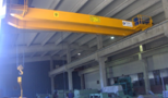 UNIS - DERVENTA - double girder overhead bridge crane load capacity 15 tons for steel tubes production industry